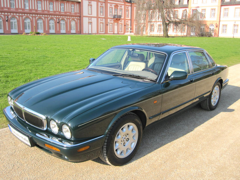 jaguar xj8 1998 oldtimer mieten 24. Black Bedroom Furniture Sets. Home Design Ideas