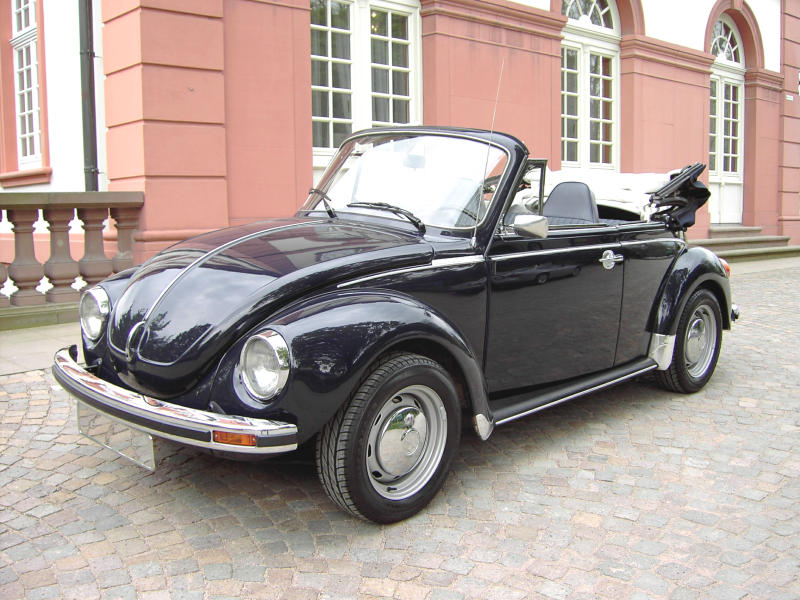 vw k fer cabrio cabriolet 1973 oldtimer mieten 24. Black Bedroom Furniture Sets. Home Design Ideas